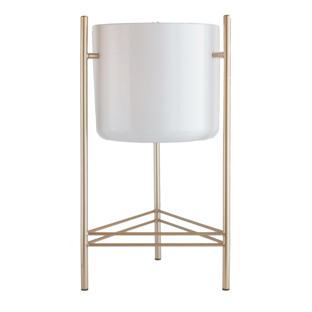Modern Gold Plant Stand