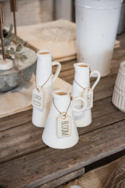 Tag Pitcher Vases