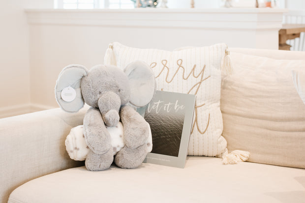 Elephant Plush with Blanket