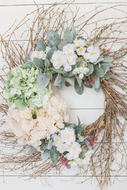Spring Twig Wreath