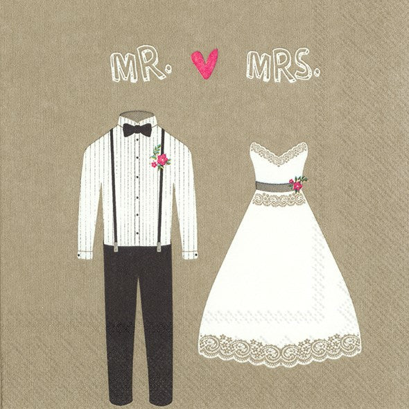 Mr. & Mrs. Napkins