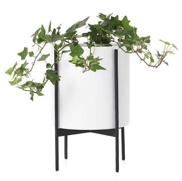 Alto Ceramic Standing Floor Planter