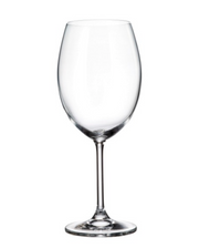 Bohemian Crystal Wine Glass Set