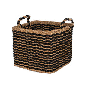 Seagrass Black Baskets