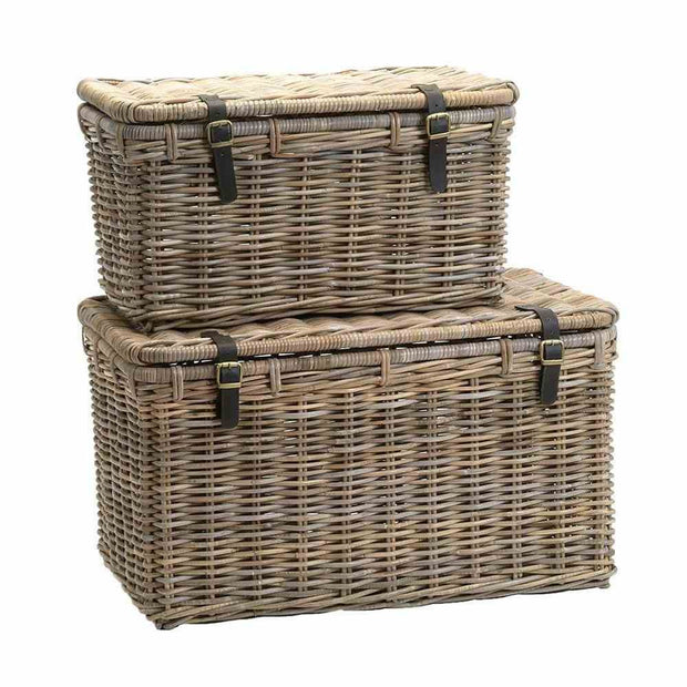 Rattan Treasure Trunks