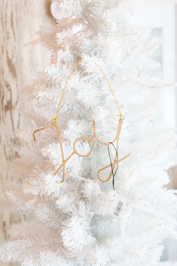 Gold Sayings Ornament