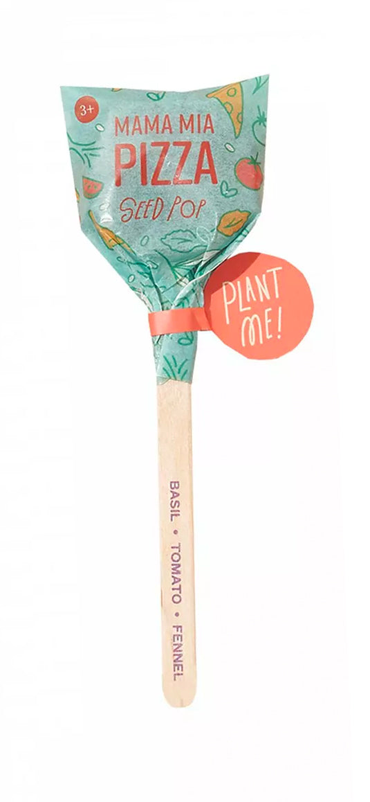 Mama Mia Pizza Seed Lollipop