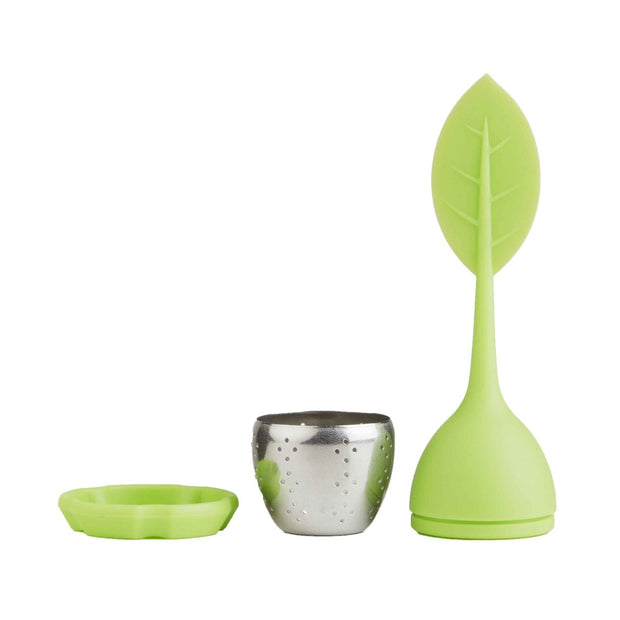 Greenleaf Tea Infuser and Resting Drip Plate