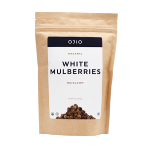 White Mulberries | Organic | Kosher - 8 oz