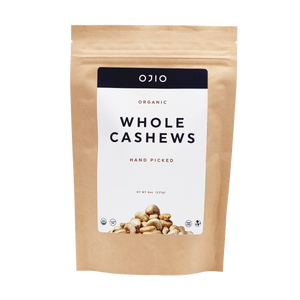 Cashews | Whole | Organic Extra Large - 8 Oz