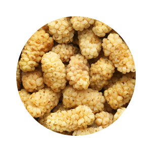 Mulberries White | Organic | Kosher - 22 Lbs