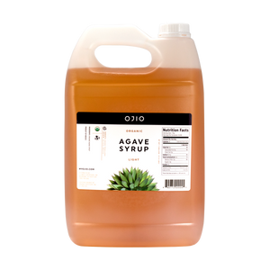 Agave Syrup Light | Organic | Kosher - 1 Gallon
