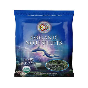 "Nori Seaweed Sheets | Organic | Kosher | Grade ""A"" Rating  - 50 Sheets"