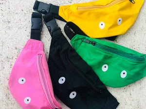 KIDS CUSTOM BUM BAG- BLACK