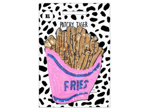 PATCH MASCOT ADD ONS- Mega sequin Fries (XL)