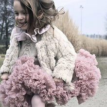 Load image into Gallery viewer, KIDS TUTU SKIRT - vintage pink