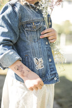 Load image into Gallery viewer, KIDS CUSTOM DENIM JACKET - X Limited Collab Mrs Mighetto