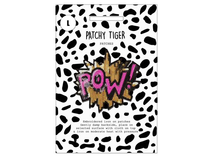 PATCH MASCOT ADD ONS- POW (L)