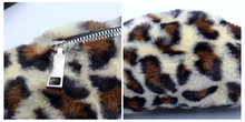 Load image into Gallery viewer, KIDS CUSTOM  BUM BAG- Leopard fur pink with initial
