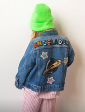 Load image into Gallery viewer, KIDS CUSTOM DENIM JACKET- Special Edition Enceladus