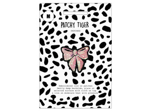 PATCH MASCOT ADD ONS- Sequin pink bow (M)