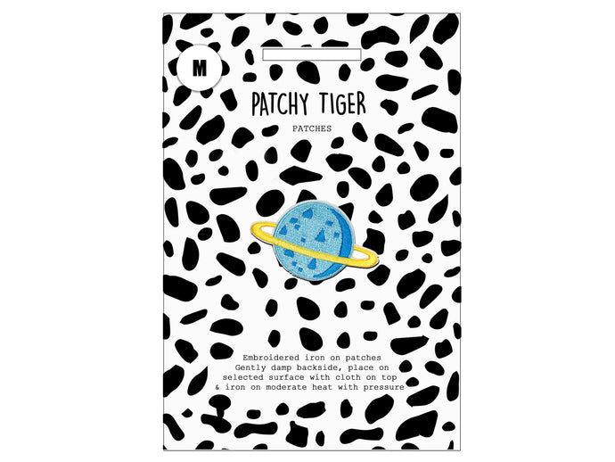 PATCH MASCOT ADD ONS- Blue Planet (M)