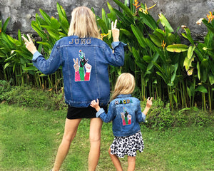 TWINNING CUSTOM DENIM JACKETS- X Bodil Jane