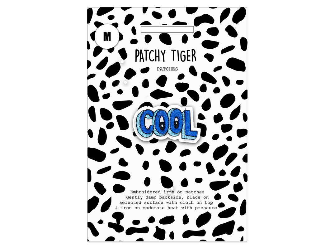 PATCH MASCOT ADD ONS- Cool (M)