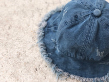Load image into Gallery viewer, KIDS CUSTOM SUN HAT- DENIM