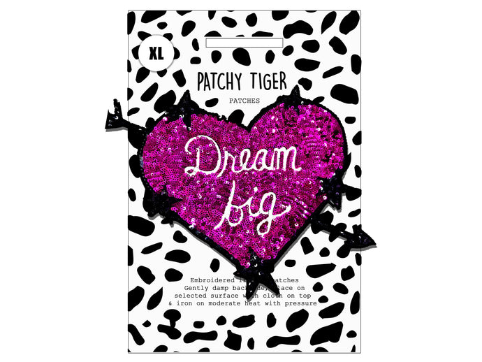 PATCH MASCOT ADD ONS- Dream Big (XL)