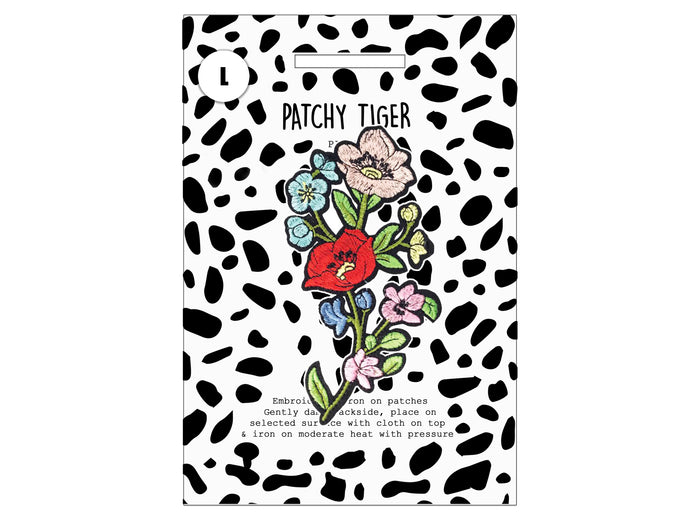 PATCH MASCOT ADD ONS- Flower branch (L)