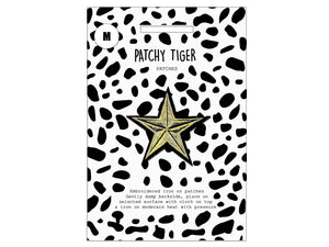 PATCH MASCOT ADD ONS- Big Golden Star (M)