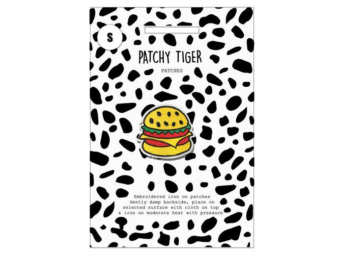 PATCH MASCOT ADD ONS- Hamburger (S)
