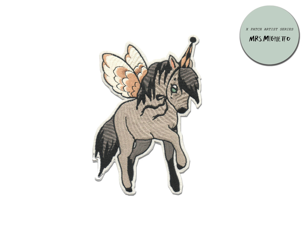 PATCH DIY ARTIST SERIES - X Mrs Mighetto Flying pony
