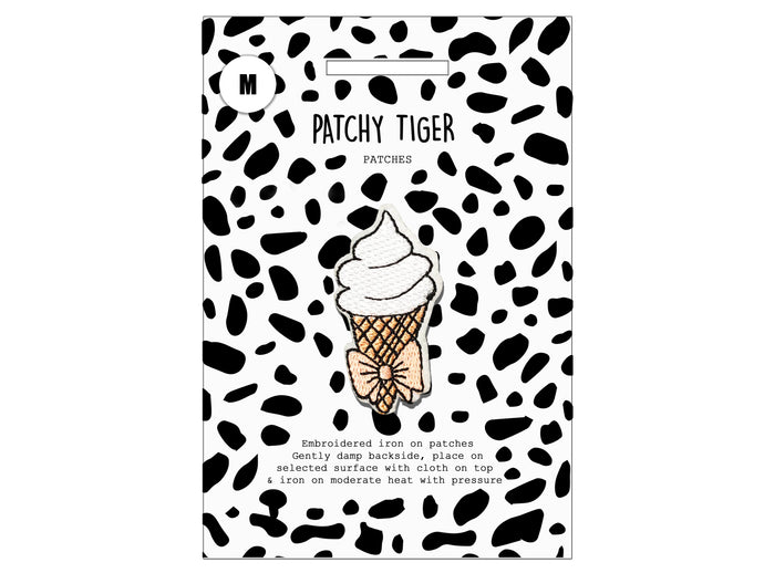 PATCH MASCOT ADD ONS- Soft cone with bow (M)