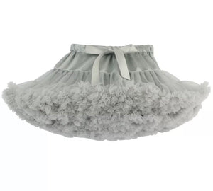 KIDS TUTU SKIRT - Dove grey