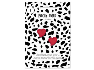 PATCH MASCOT ADD ONS- Mini red hearts (S)