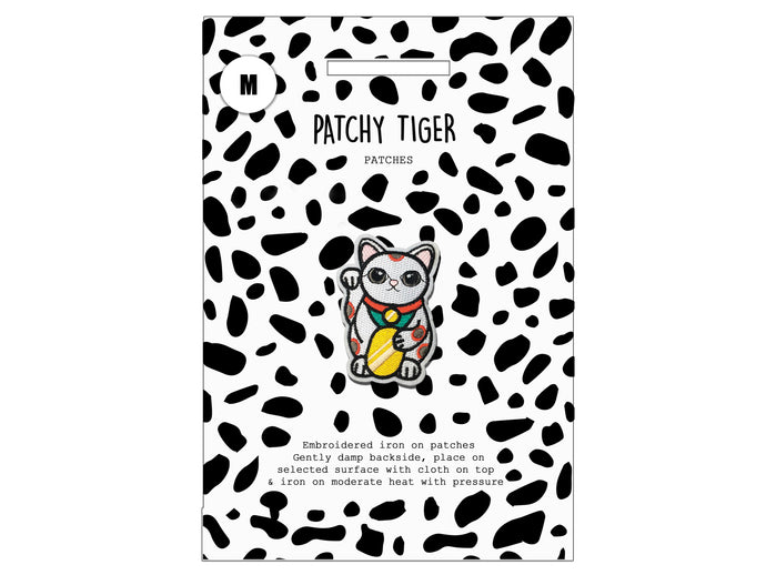 PATCH MASCOT ADD ONS- Lucky Cat (M)
