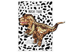 PATCH MASCOT ADD ONS- Sequin Dinosaur (XL)