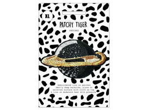 PATCH MASCOT ADD ONS- Mega sequin saturn (XL)