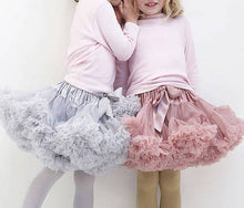 Load image into Gallery viewer, KIDS TUTU SKIRT - Dove grey