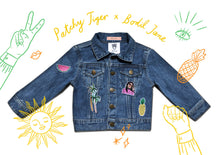 Load image into Gallery viewer, TWINNING CUSTOM DENIM JACKETS- X Bodil Jane