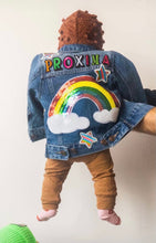 Load image into Gallery viewer, KIDS CUSTOM DENIM JACKET- Special Edition Proxima