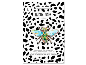 PATCH MASCOT ADD ONS- 3D sequin mega bug (L)