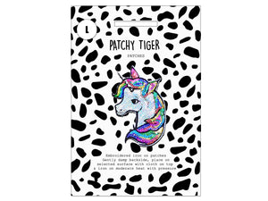 PATCH MASCOT ADD ONS- Sequin unicorn (L)