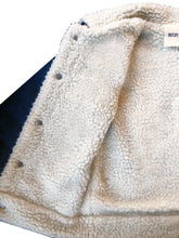 Load image into Gallery viewer, KIDS CUSTOM SHEARLING DENIM JACKET