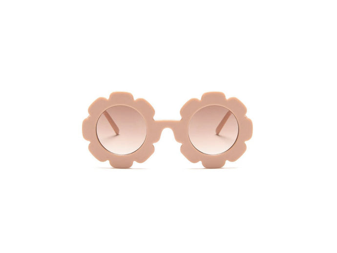 Kids flower sunglasses- pink