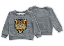Load image into Gallery viewer, KIDS CUSTOM SWEATSHIRT- Roaring Leopard
