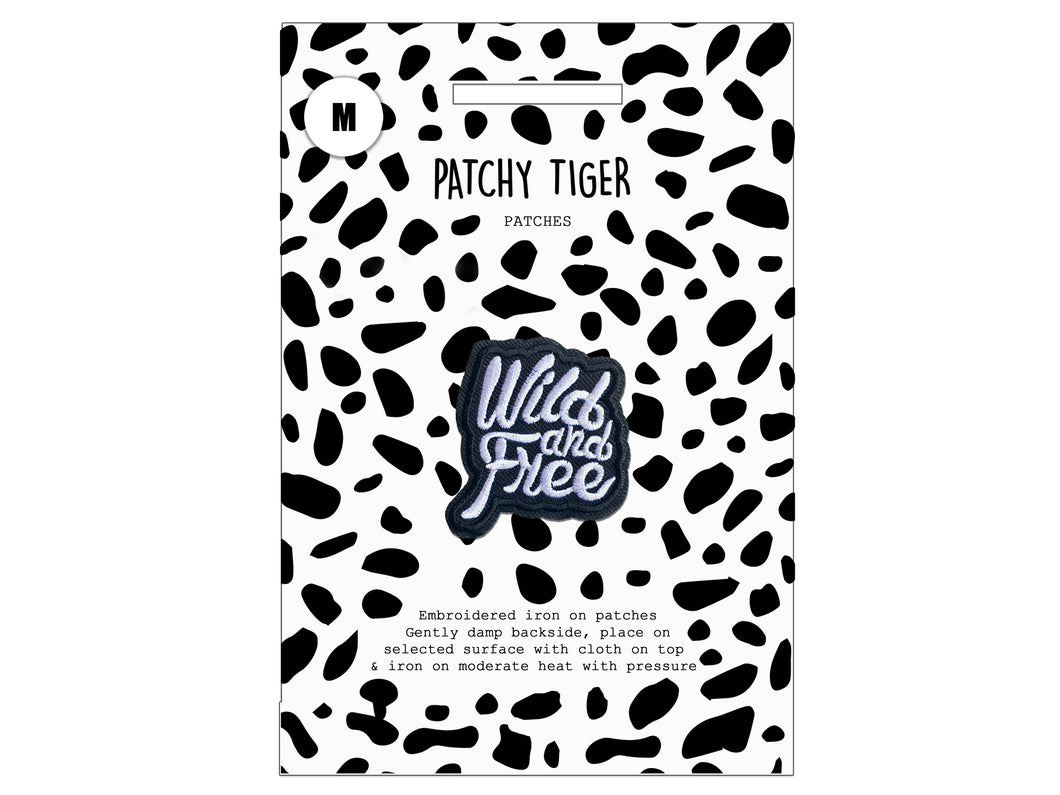 PATCH MASCOT ADD ONS- Wild & Free (M)