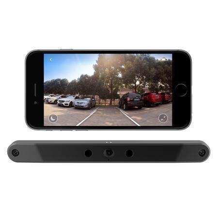 【CONNECT TO ANDROID & IOS】WORLD'S MOST ADVANCED AUTOMOTIVE BACKUP CAMERA——Waterproof High Definition Color Wide Viewing Angle